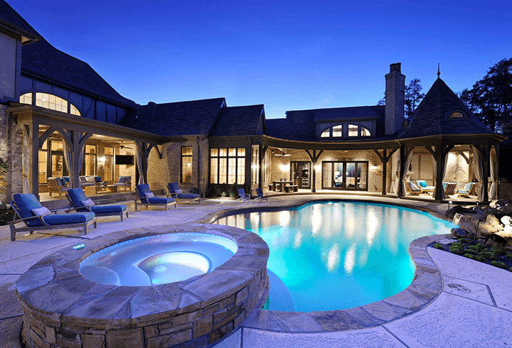 Poolside Patio