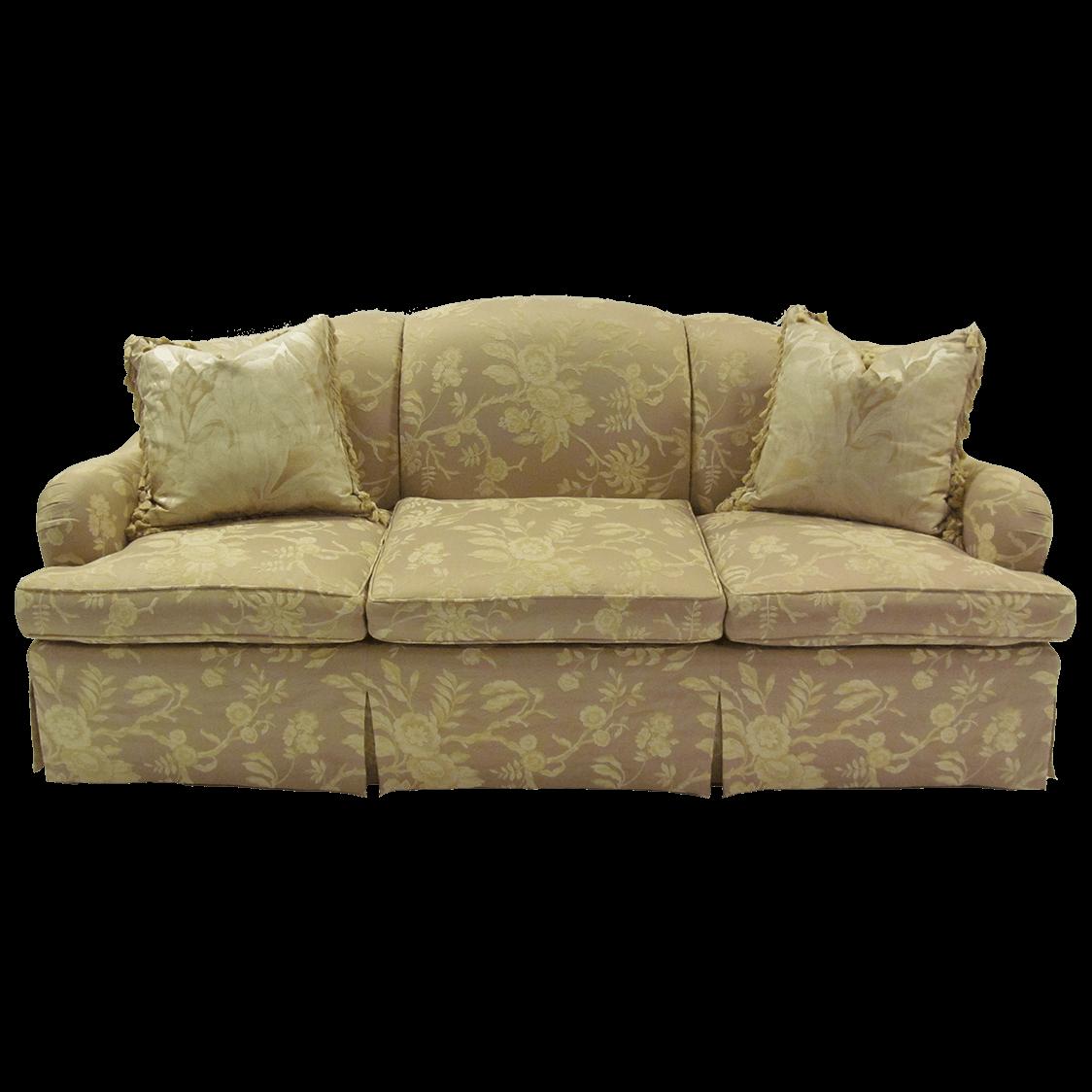 """Kisabeth_87""""_skirted_sofa"""