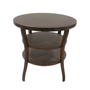 Baker Round Tiered End Table - Barbara Barry