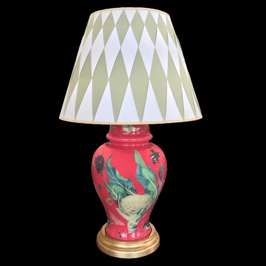 Carson & Company Decoupage Table Lamp